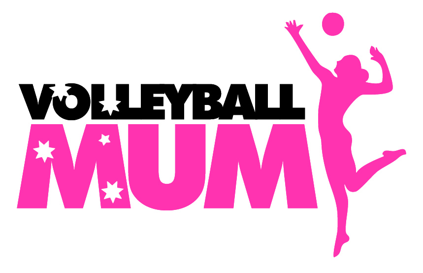 Volleyball Mum Vinyl Decal for Car
