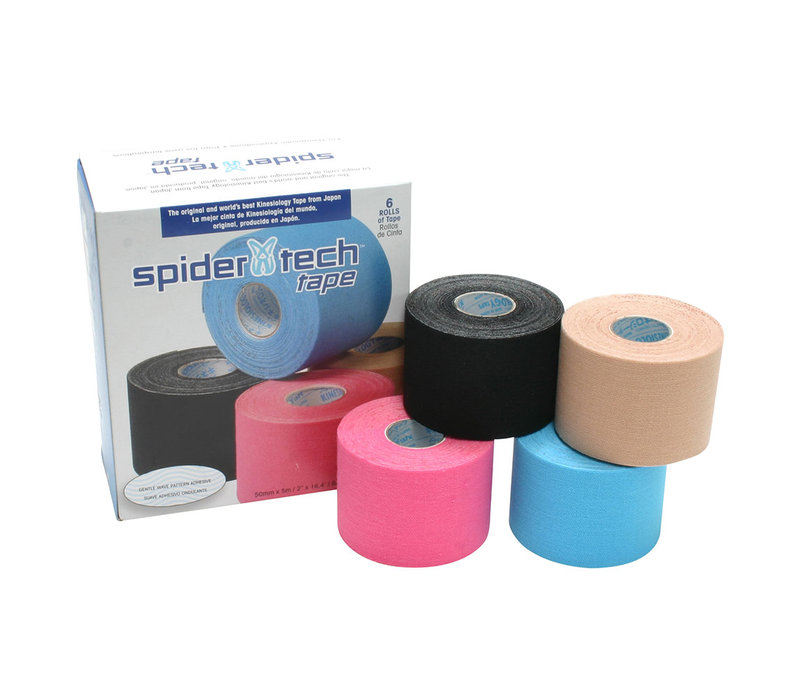SpiderTech Kinesiology Tape 5cm x 5m