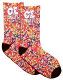 OzVolley Sublimated Crew Sock - Hundreds & Thousands