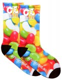 OzVolley Sublimated Crew Sock - Jelly Beans