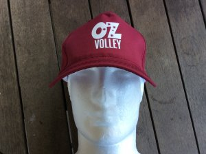 OzVolley Classic Logo Baseball Cap (Polyester)