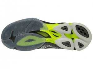Mizuno Wave Lightning Z6 Men's Volleyball Shoe (Black/Safety Yellow)