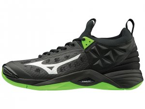Mizuno Wave Momentum (Black/Green Ghecko)