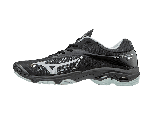 Mizuno Wave Lightning Z4 Volleyball Shoe (Black/Silver) Men's US 6.5 Only