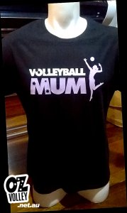"OzVolley ""Volleyball Mum"" T-Shirt"