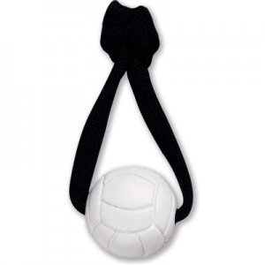 Zangles Volleyball Zipper Pull